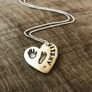 Hand & Footprint Necklaces