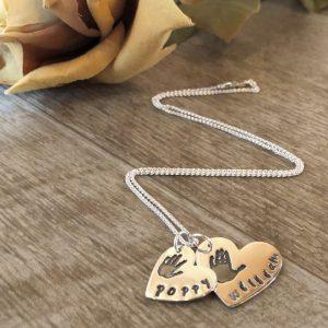 Hand, Foot, Finger & Pawprint Jewellery