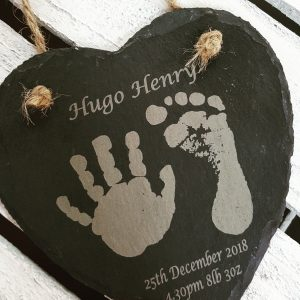 Personalised hand & footprint gifts